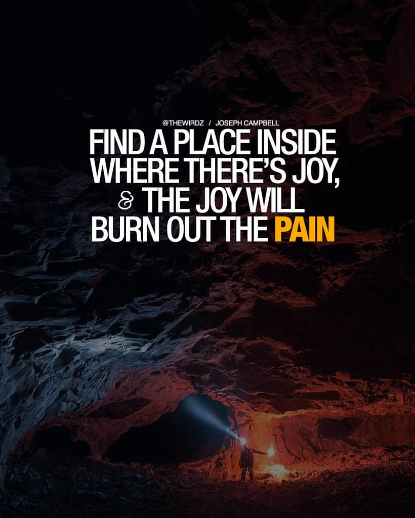 Find A Place Where Theres A Joy And The Joy Will Burn Ou Flickr