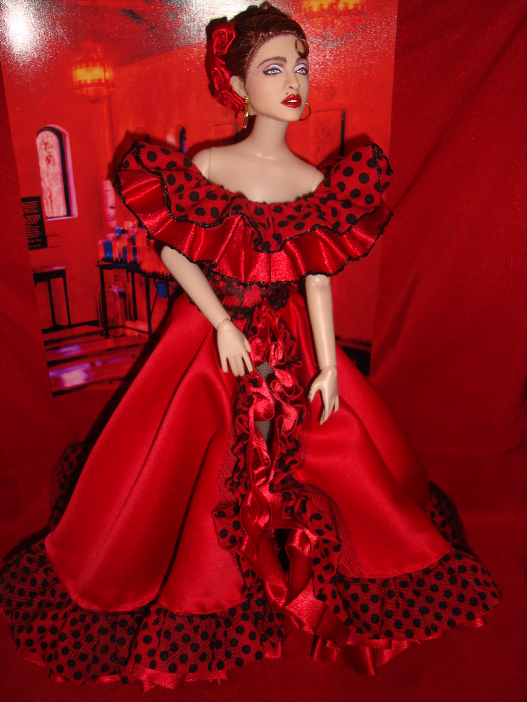 Madonna doll   MADONNA La Isla bonita doll By Cyguy dolls  I