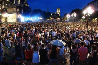Paris, concert de Fauve   by O.Ortelpa