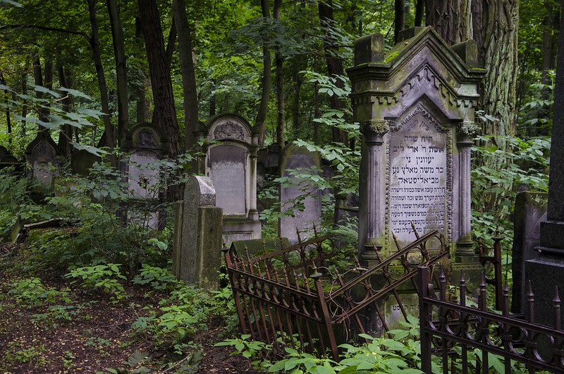 Jewish Cemetery in Warsaw