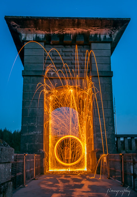 Light painting in Wales-5