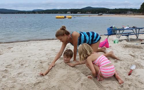 summer vacation lake hot beach springs arkansas balboa