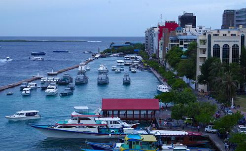 city male harbor downtown capital indianocean center maldives metropolitan pentaxk30