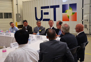UniEnergy Technologies hosted a business roundtable for energy and utilities executives | by WaStateGov