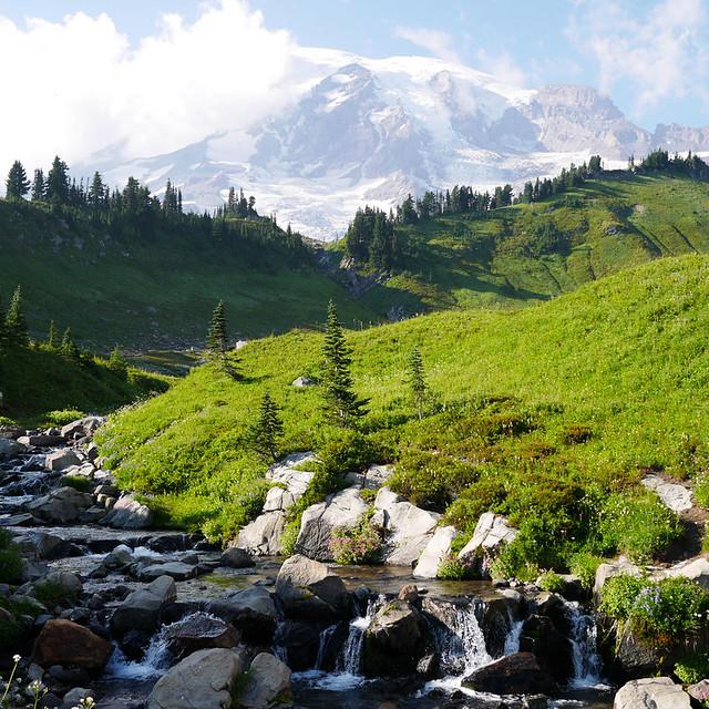 Mount Rainier - Aug 2014
