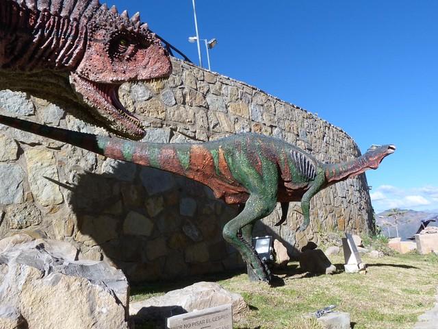 Parque Cretácico en Sucre (Bolivia)