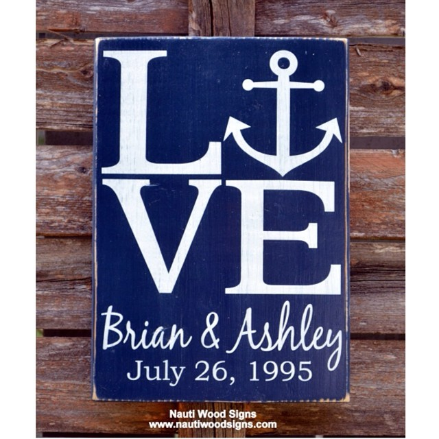 Hand painted custom wood signs. #weddingday #weddinggift ...