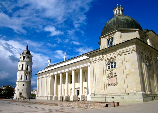 Vilnius Cathedral and Bell Tower - Lithuania
