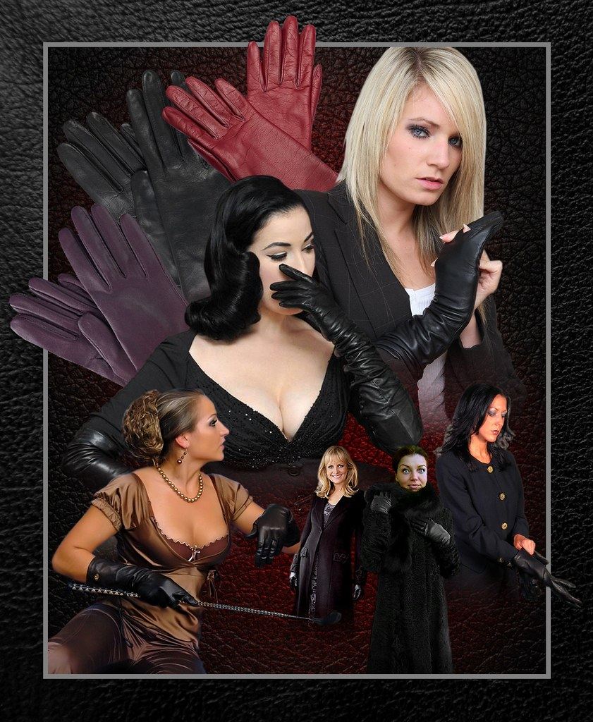 sells sale online the sale of shoes Ladies in Leather Gloves Poster (New) | Lord_Radim | Flickr
