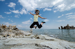A mono lake jump!