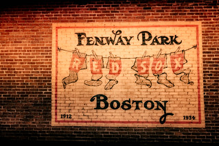 Fenway Brick Wall Mural | by Eric Kilby