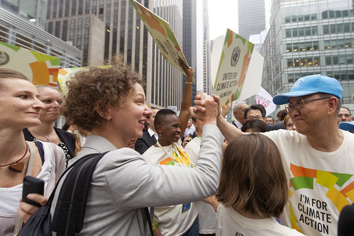 Secretary-General Joins People's Climate March, New York | by United Nations Photo