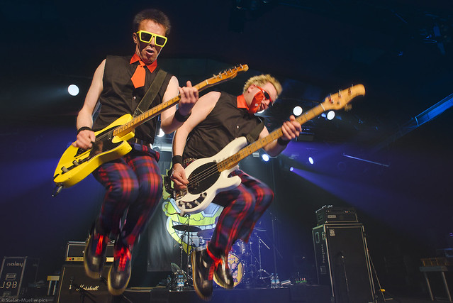Olga and Tommy | The Toy Dolls