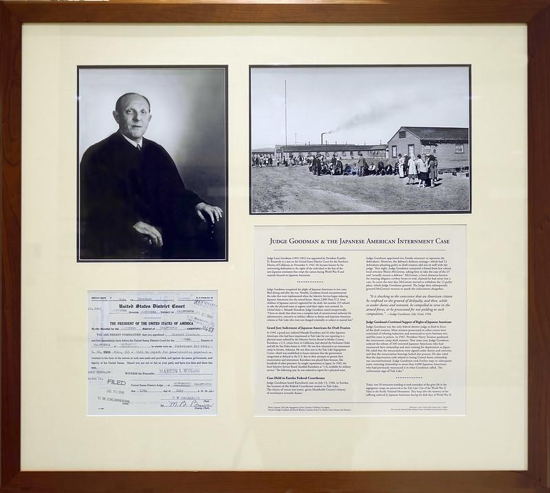 Story of Judge Goodman & the Japanese American Interment Case