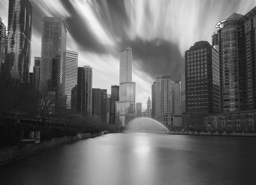 Chicago River Clouds | by gorillakid4352012