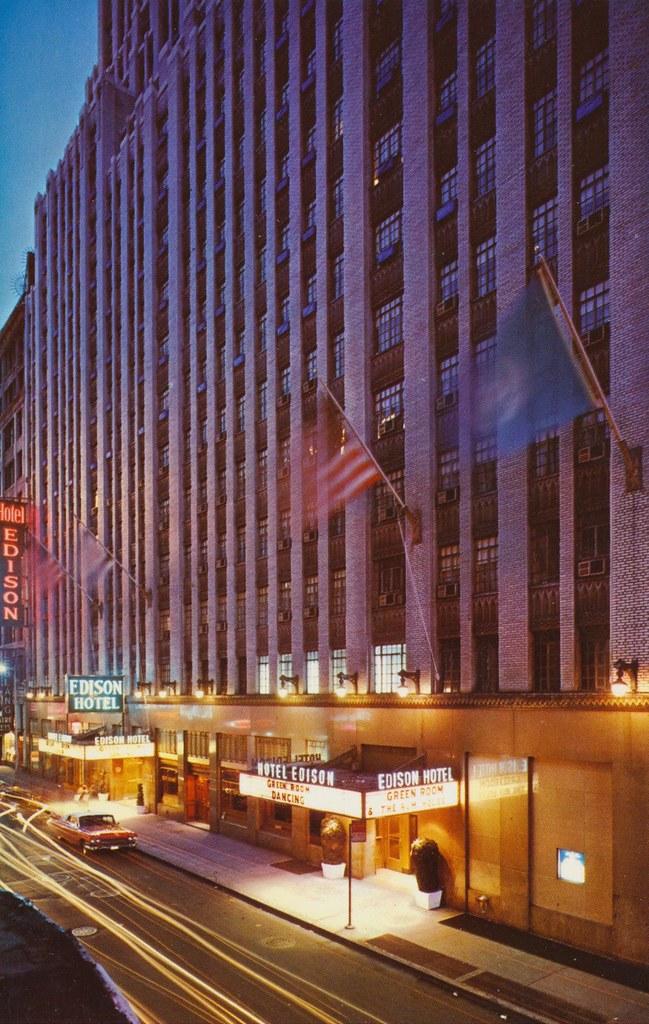 Hotel Edison New York New York 46th To 47th Street Ju Flickr