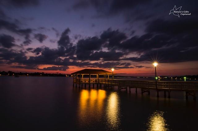 Halifax River Sunset Daytona Beach 2014