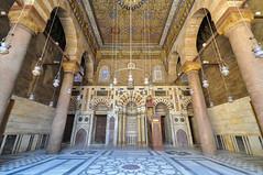 Mihrab (marking the direction of the Kaaba in Mecca) - Madrasa of Sultan al-Zahir Barquq - Qalawun complex