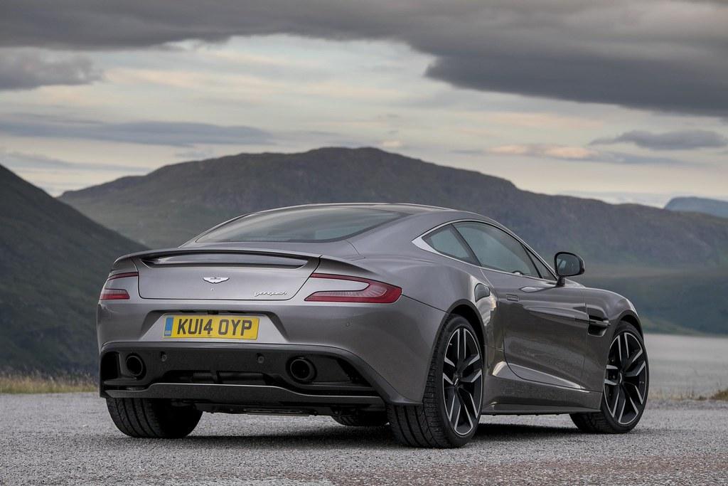 Aston Martin Vanquish In Tungsten Silver Car Fanatics Flickr