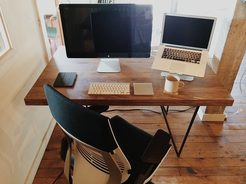 office setup | by @ayn