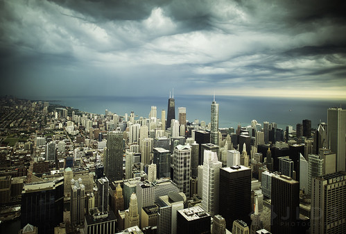 city urban chicago tower skyline photography nikon moody skyscrapers cloudy ominous sears stormy metropolis 24mm gotham storms willis d800 14g jld3