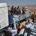 UNHCR News Story: UNHCR in major air, land and sea humanitarian aid push into northern Iraq