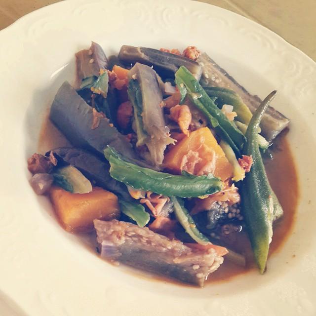 Pakbet Pinakbet Ilocano Lunchtime Menu Noricediet S Flickr