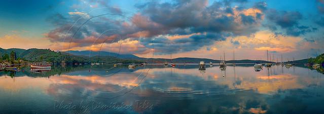 Όρμος Βαλτούδι Cove Valtoudi panorama new process