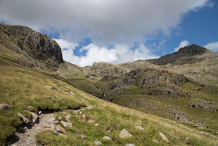 Broad Stand and Scafell Pike | by johnkaysleftleg