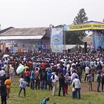 Amani Festival 2014 - Le festival investi le terrain de foot du collège Mwanga  pour un w-e