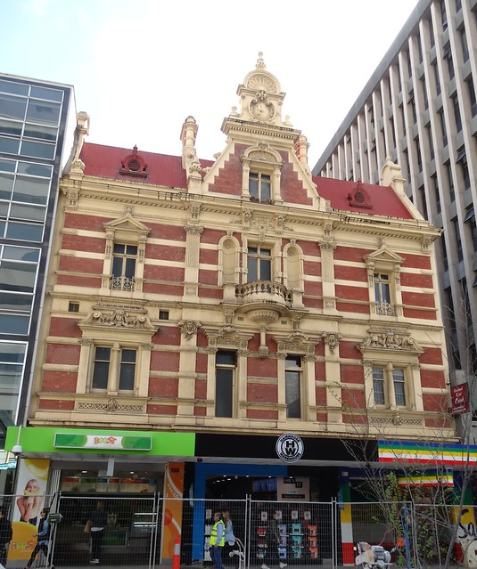 Commerical premises  and shop 150 to 154 Rundle Mall Adelaide. Architect was Daniel Garlick 1886.