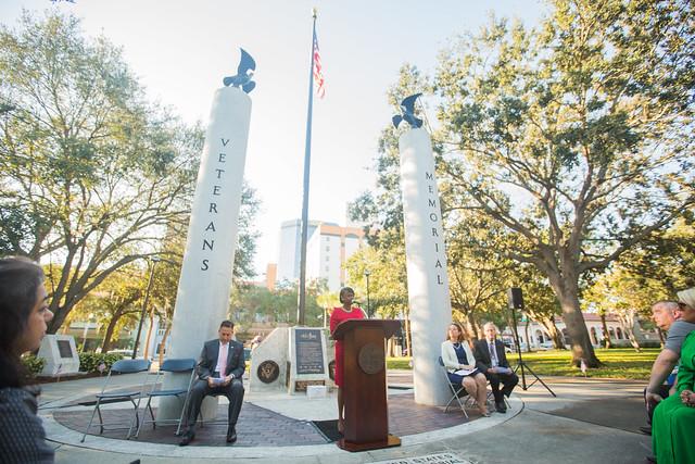 2016 St. Peterbursburg Florida Veterans Day Memorial