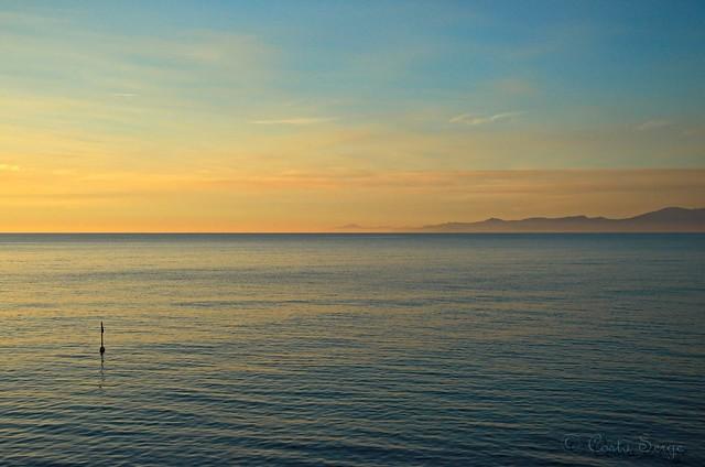 Mediterranean sunrise.