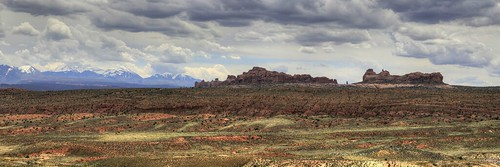 park travel panorama usa mountain window clouds america point landscape photography utah outdoor arches national np section rik tiggelhoven