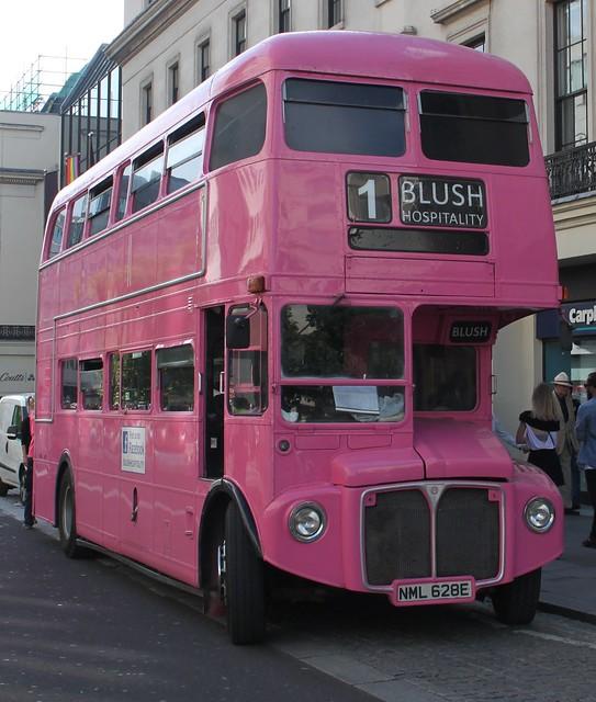 Pink Routemaster