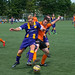 VVSB 1 - Ter Leede en VVSB 2 - Katwijk 2 oefenwedstrijd