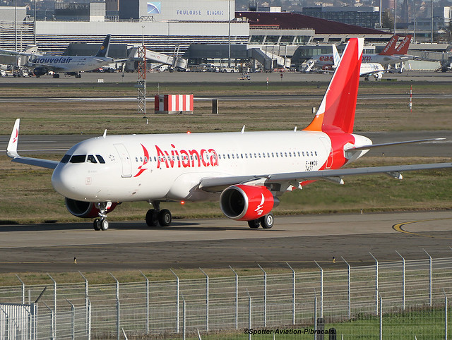 Avianca. Airbus A320.