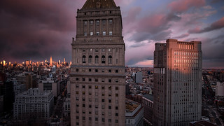 Courthouses at Sunset   by RBudhu