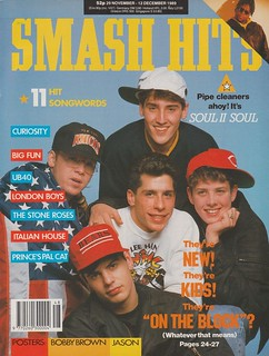 Smash Hits, November 29, 1989