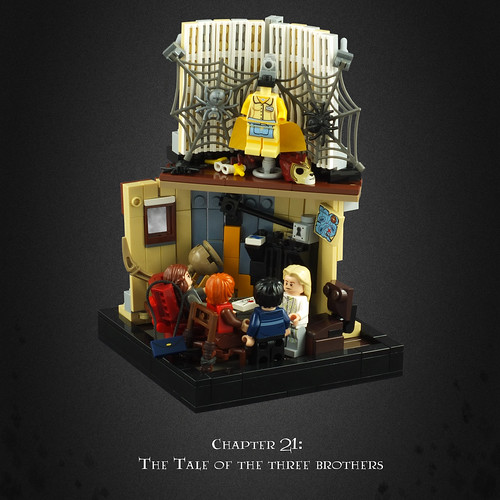 Harry Potter and the Deathly Hallows 11 – Xenophilius Lovegood's Home