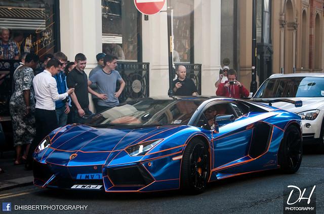Lamborghini Aventador L760-4 by Oakley Design with Tron Wrap