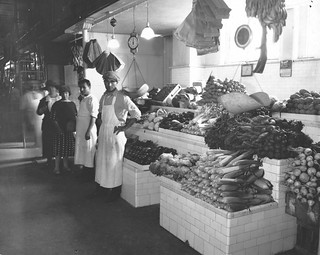 Photograph of a Modern Fruit and Vegetable Stand in Center Market, 10/1922 | by The U.S. National Archives