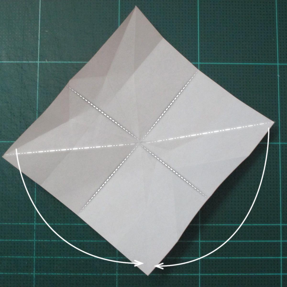 วิธีพับกระดาษเป็นที่คั่นหนังสือรูปผีเสื้อ (Origami Butterfly Bookmark) 015