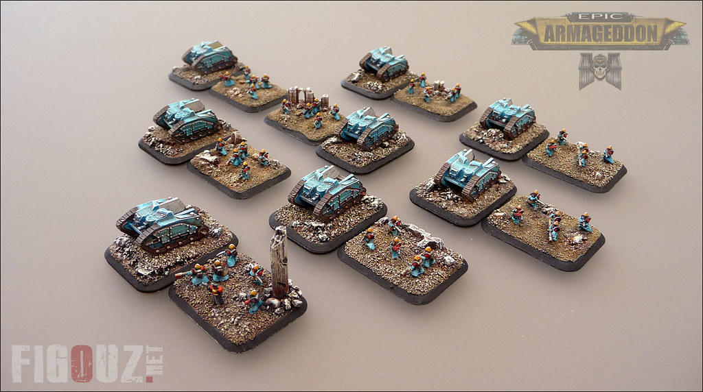 Grenadiers Unit - Death Korps Of Krieg - 6mm miniatures fo… | Flickr