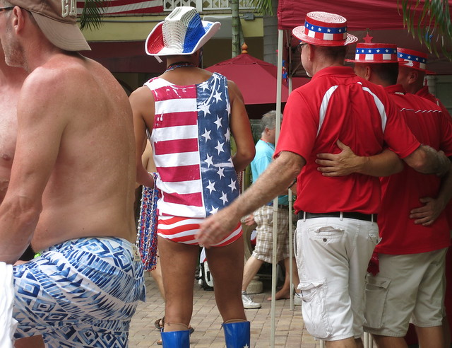 Patriotic Line-up