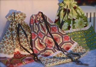 Ginger Blossom Laundry Bags