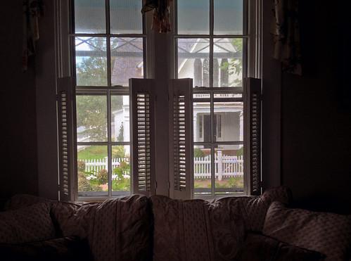 street window view massachusetts cottage edgartown