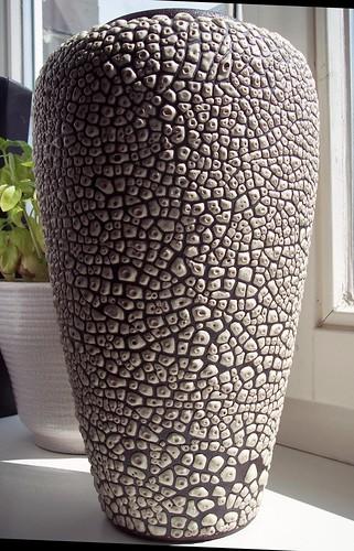 Albert Kiessling - Large Snakeskin Vase