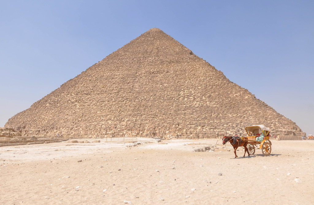 The Great Pyramid of Giza (Pyramid of Cheops or Khufu) | Flickr