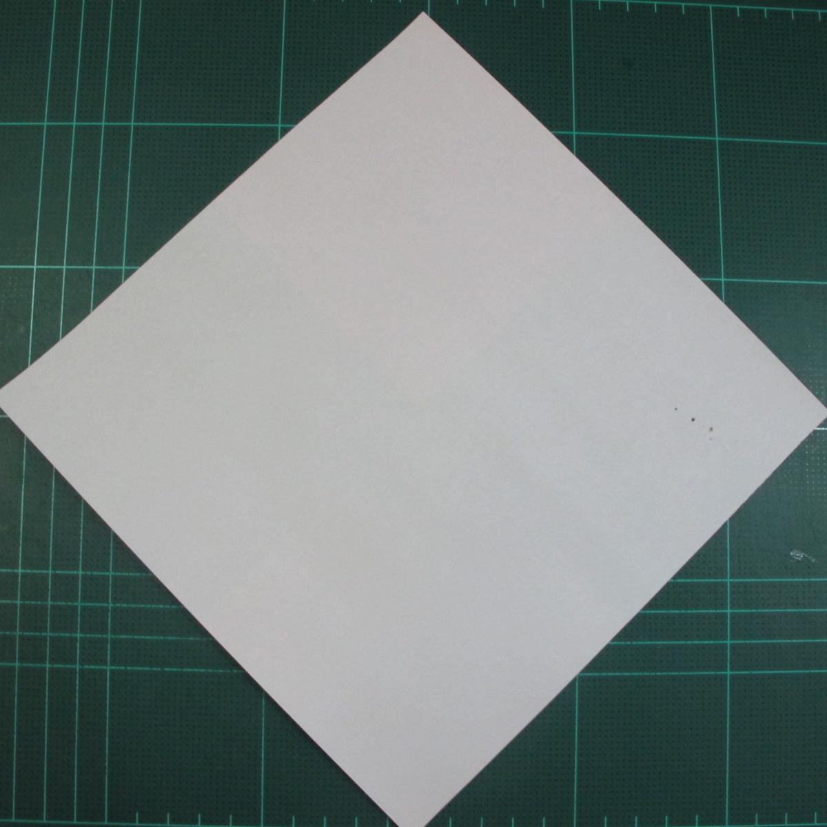 วิธีพับกระดาษเป็นรูปนกแก้ว (Origami Parrot) 001